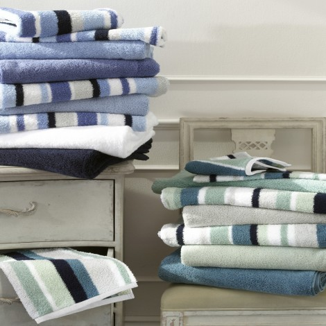 Lighthouse Matouk Bath Towels